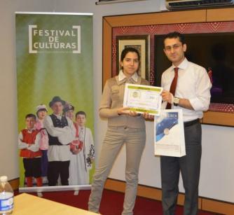 Segundo Premio. Festival de Culturas